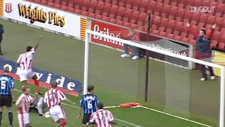 Stoke's best goals against Nottingham Forest