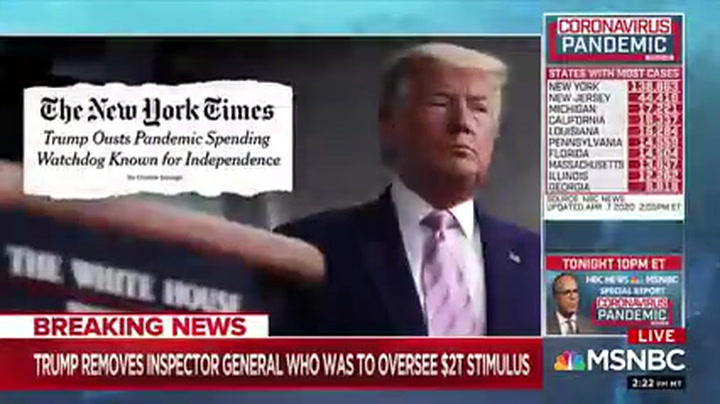 MSNBC's Figliuzzi: Trump Is 'Exploiting a Virus to Dismantle the Rule of Law and the Constitution'