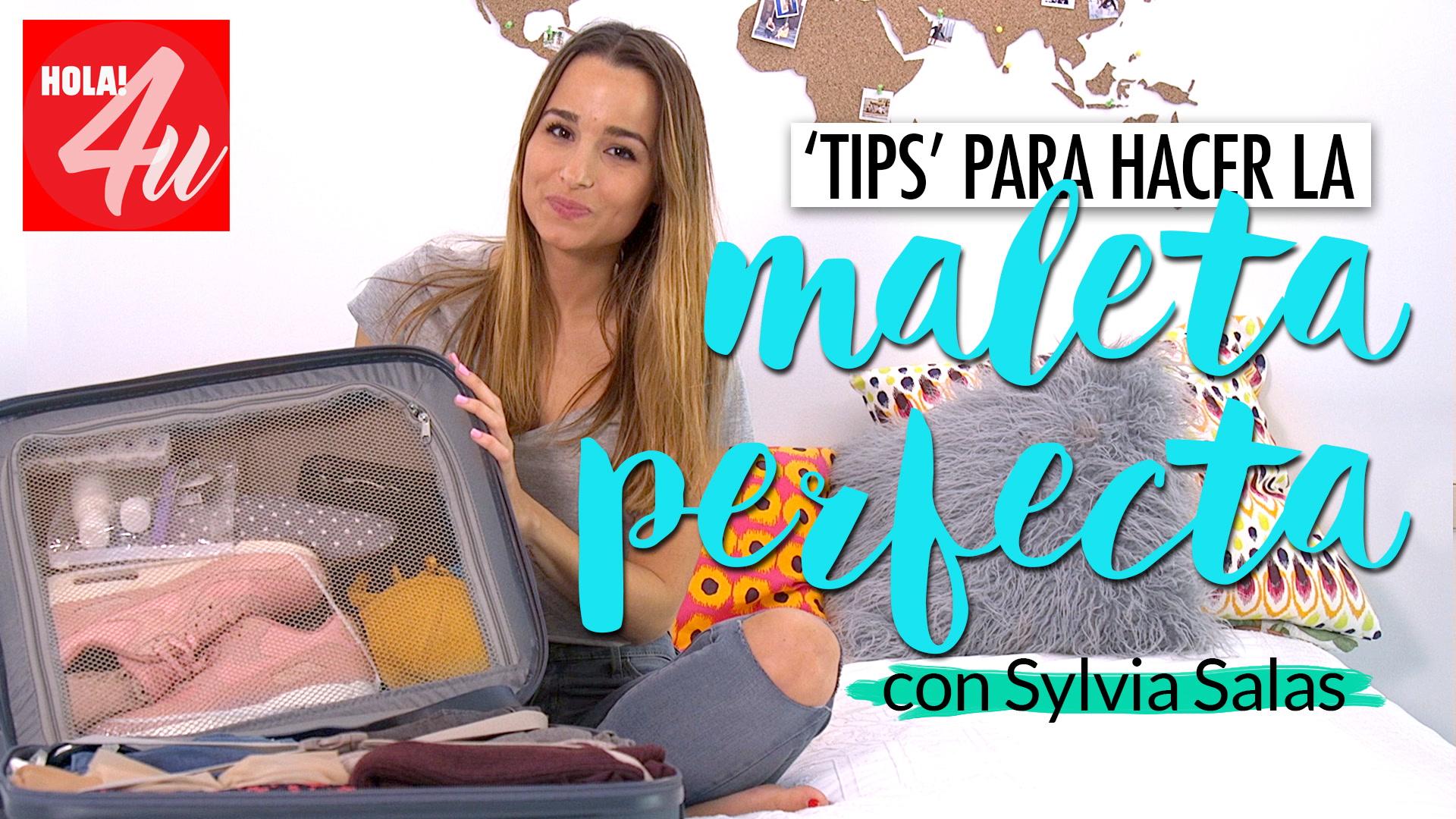 Cómo hacer la maleta perfecta con Sylvia Salas