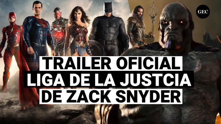 Liga de la Justicia: Trailer oficial de la versión de Zack Snyder