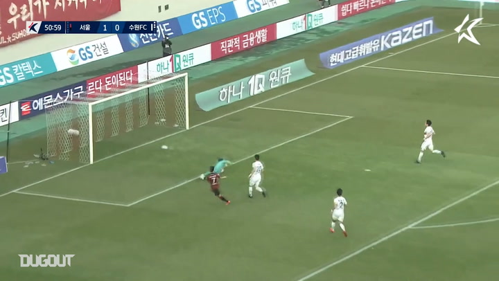Ki Sung-yueng's defence-splitting assist against Suwon FC