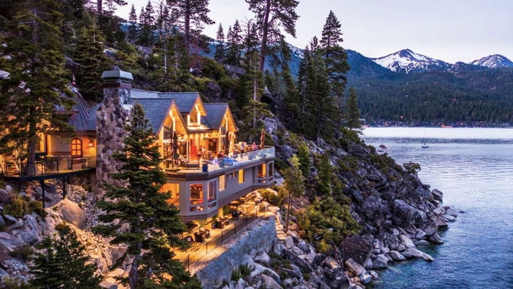 This $75M 'Epic Lakefront Masterpiece' in Tahoe Will Blow Your Mind