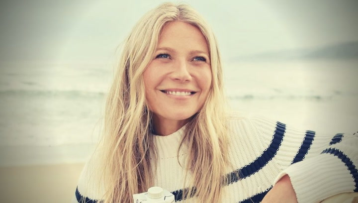 Gwyneth Paltrow promociona su empresa de moda Goop