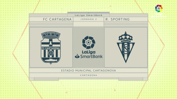 LaLiga Smartbank (Jornada 2): Cartagena 0-1 Sporting