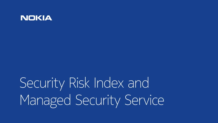 Managed Security Services | Nokia Networks