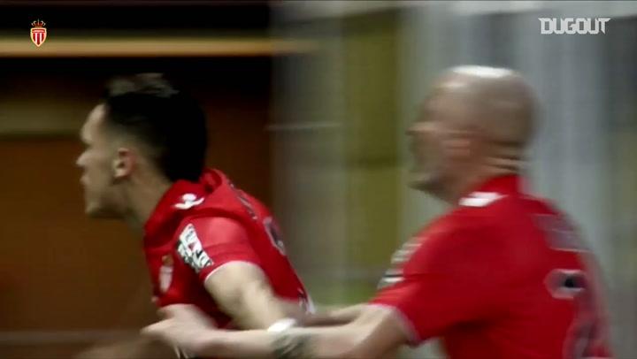Lucas Ocampos' first goal at Monaco