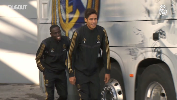 Real Madrid link up for final preparations ahead of Real Sociedad game