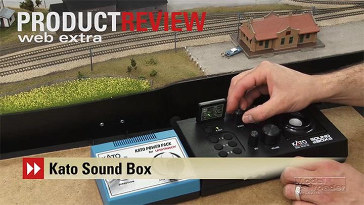 Video: Kato Sound Box analog sound controller for model