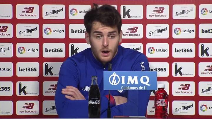 """Ibai Gómez: """"No puedo estar contento"""""""