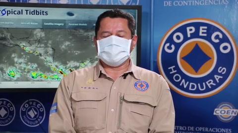 Las condiciones climáticas en el territorio hondureño este sábado