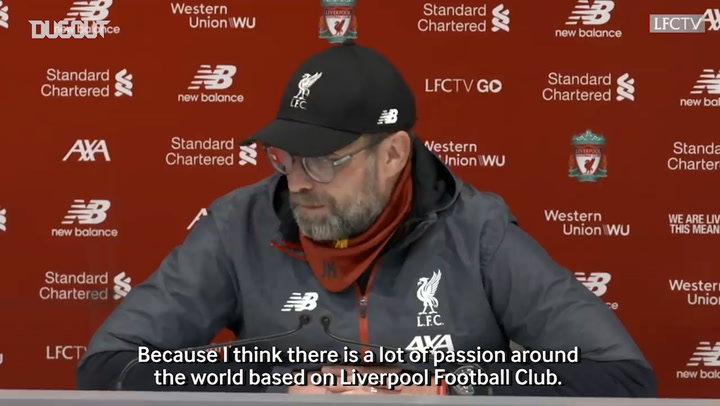 Klopp: Liverpool fans made a big difference