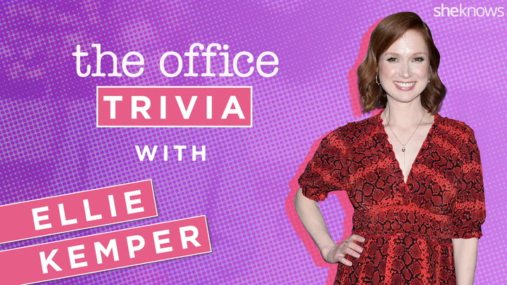 Exclusive: Watch Ellie Kemper Play <em>The Office</em> Trivia (Yes, We Asked About Scott's Tots!)