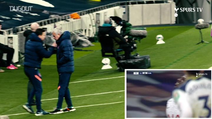 José cam: Spurs beat Brentford to make Wembley