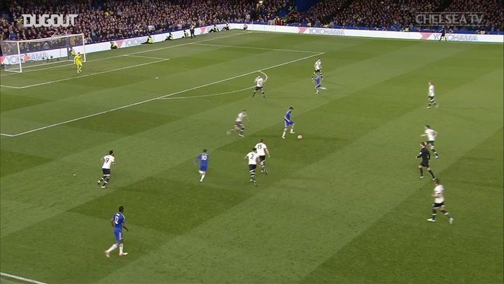 Eden Hazard's Top Five Chelsea Goals