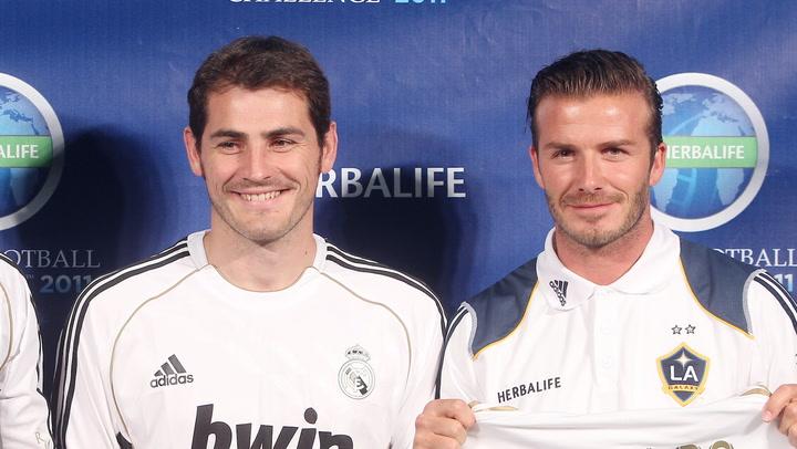 Iker Casillas manda un cariñoso mensaje a David Beckham
