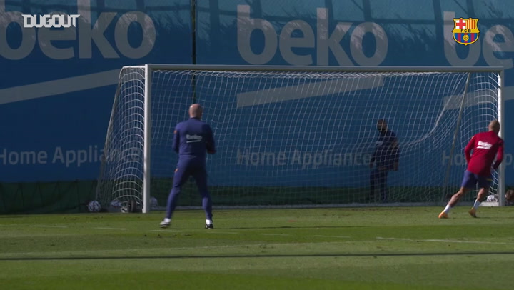First training session before Juventus clash