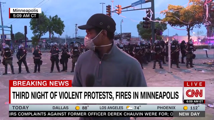 Watch: CNN Reporter, Crew Arrested During Live Minneapolis Broadcast