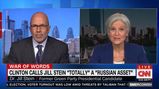 Stein: Hillary's Pushing 'Conspiracy Theory' to Explain Why She Lost