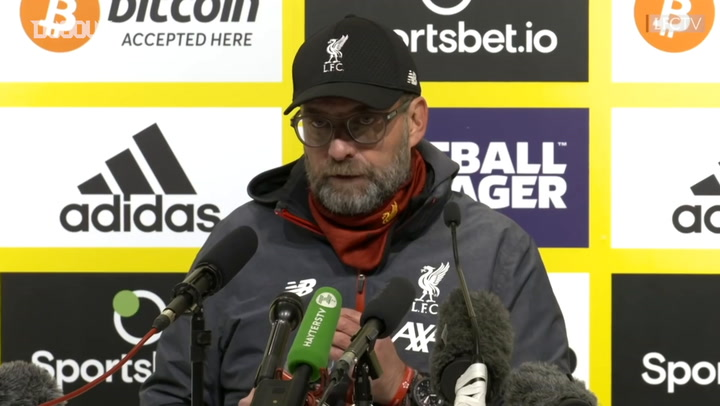 Klopp: 'We can now play free football again'