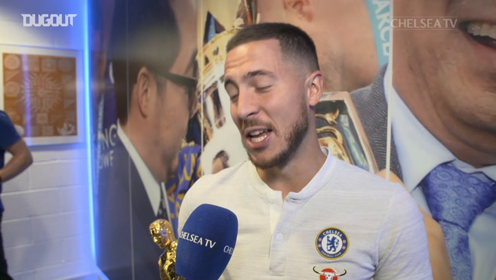 Eden Hazard Honoured To Be Named Chelsea's Player Of The Year