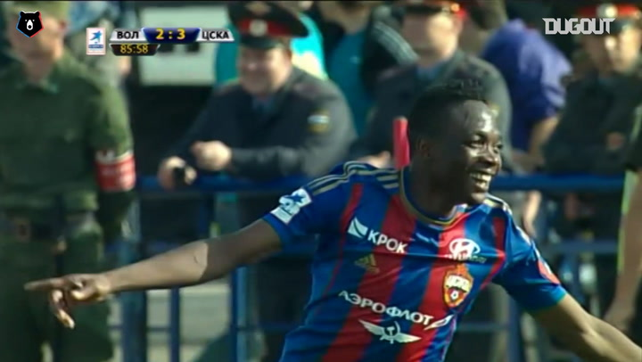 Honda's brilliant chipped assist for CSKA winner