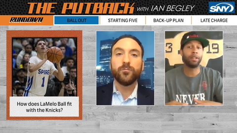 The Putback with Ian Begley: Looking at LaMelo Ball and other potential Knicks draft picks