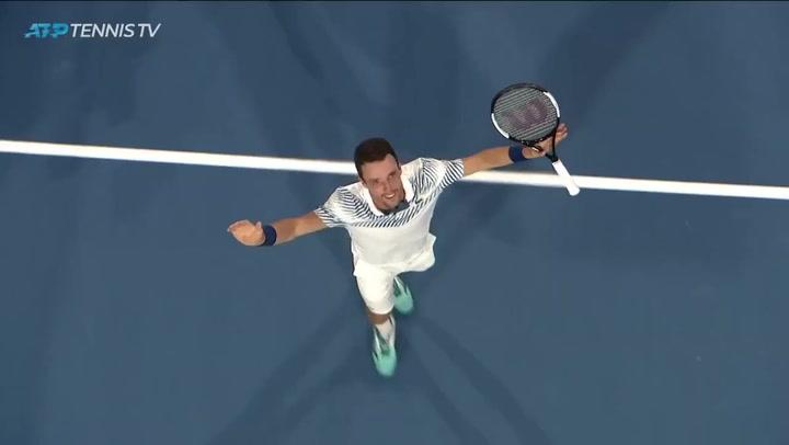Campanada de Bautista al vencer a Djokovic en Miami