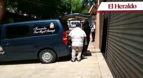 Retiran de la morgue capitalina cadáver de enfermera ultimada en Juticalpa