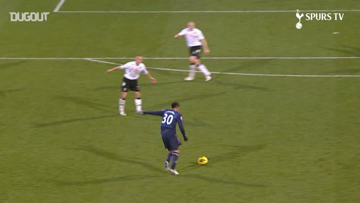 Spurs' Top Five Strikes Against Fulham