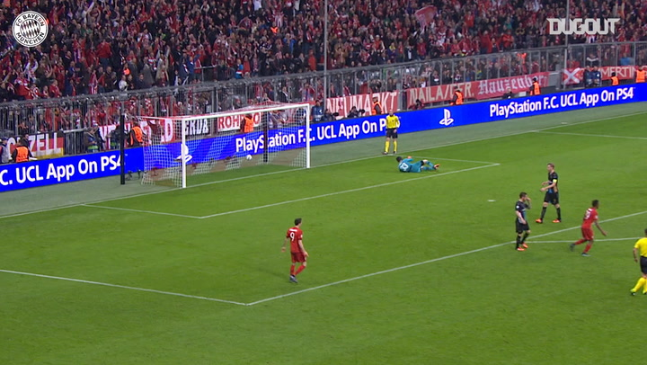 David Alaba's sensational strike vs Arsenal
