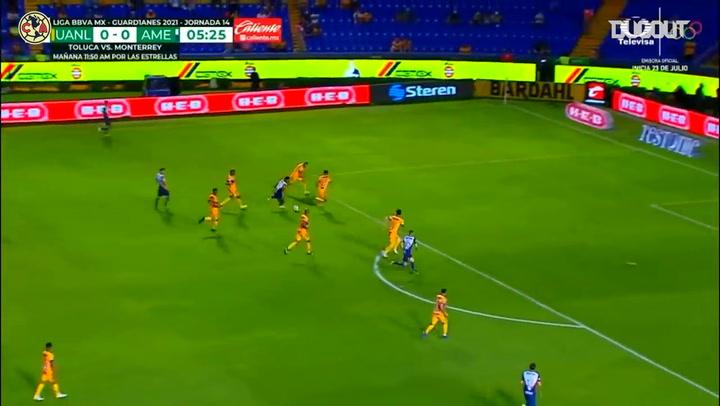 Club América's 3-1 victory at Tigres
