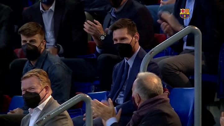 Laporta intentará convencer a Messi de que siga en el Barça