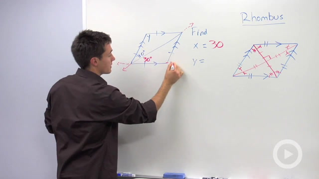 Rhombus Properties - Problem 1