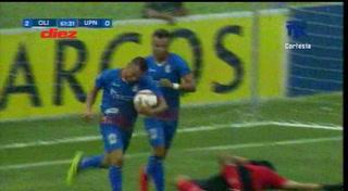 ¡Garrafal! El pecado de Edrick Menjívar en el gol de Arnold Meléndez