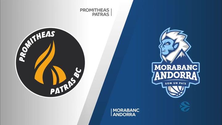 Promitheas Patras - MoraBanc Andorra