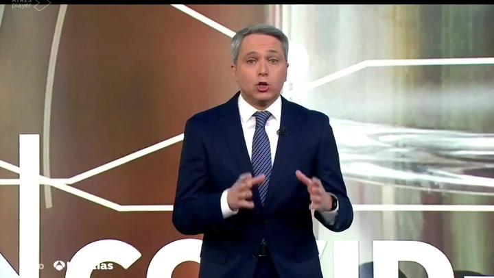 Vicente Vallés vuelve a dejar en evidencia al gobierno por la campaña de vacunación