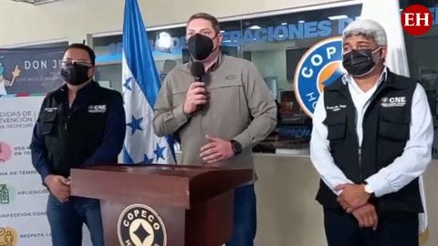 Autoridades de Copeco anuncian entrega de kits de bioseguridad para elecciones generales