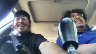 WantToTakeAHitFirst? Episode 14: We in the car, hotboxin, we in herman's whip - hotboxin
