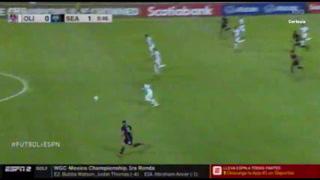 ¡Seattle Sounders anota el 2-0 ante Olimpia cuando el Albo jugaba bien!