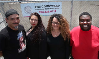 Courtyard Homeless Resource Center employees talk about their termination