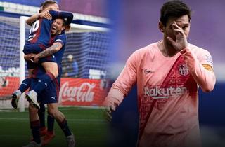Barcelona no pudo contra el Eibar en la última jornada de la Liga Española