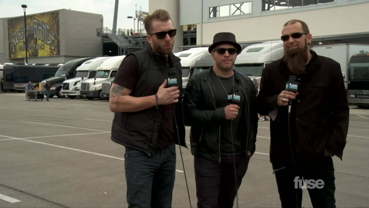 Festivals:Rock On The Range 2013: Three Days Grace Wanna Go Out With a Bang