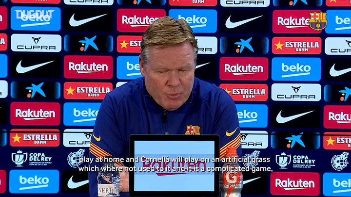 Ronald Koeman: 'The club doesn't agree with Leo Messi's sanction'