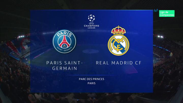 Champions League: Resumen y Goles del Partido PSG - Real Madrid