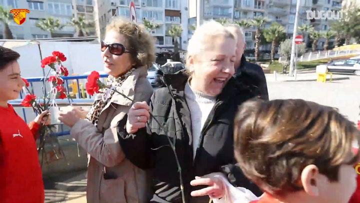 Göztepe 8 Mart Kadınlar Gününü Kutladı