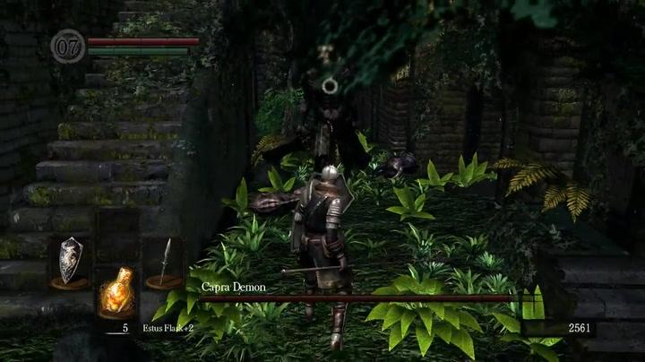 Dark Souls Capra Demon