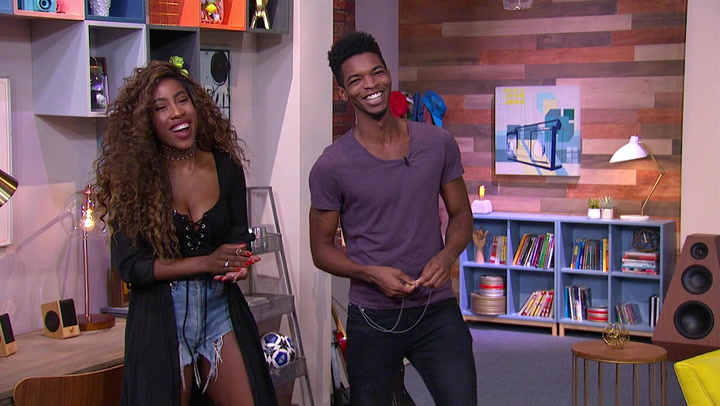 Kingsley and Sevyn Streeter Guess Most Used Emojis on Twitter: Trivial Takedown PreGame