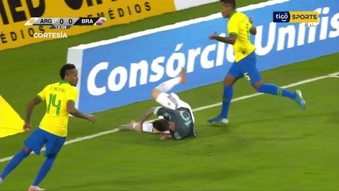 Messi pone a ganar a Argentina contra Brasil en el partido amistoso