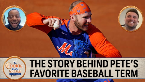 Cookie Club Crumbs: The story behind Pete Alonso's favorite baseball term