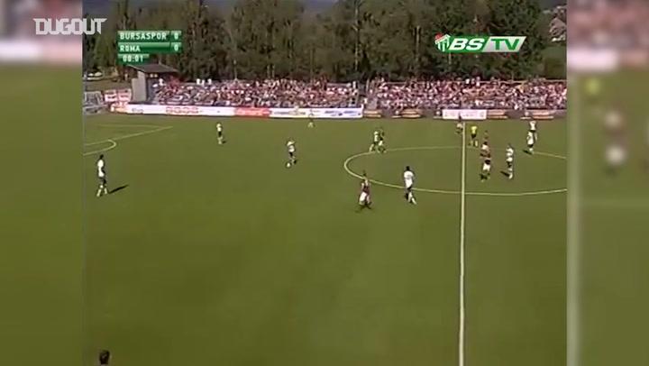 Bursaspor 1-1 AS Roma Maç Özeti
